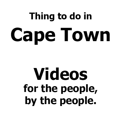 Cape Town Things to do VIDEO